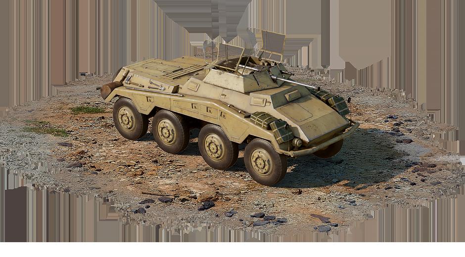 Sd.Kfz.234/1 (Germany) — premium, rank I