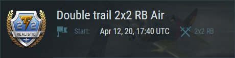"""Double trail"" RB"