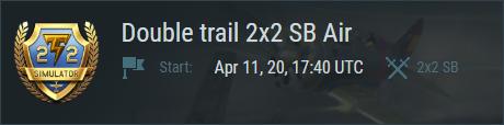 """Double trail"" SB"