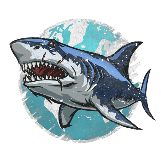 "Season decal ""Shark of War"""