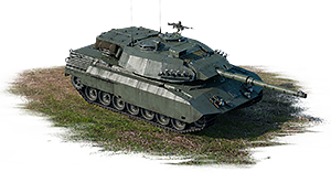 Leopard C2A1 MEXAS rank VI, Germany, event vehicle