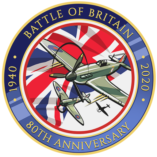 """80 Years of the Battle for Britain"" decal"