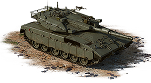 Merkava Mk.3D (USA) — event vehicle, coupon, rank VII