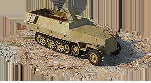 Sd.Kfz.251/10 (Germany) — premium, coupon, rank I