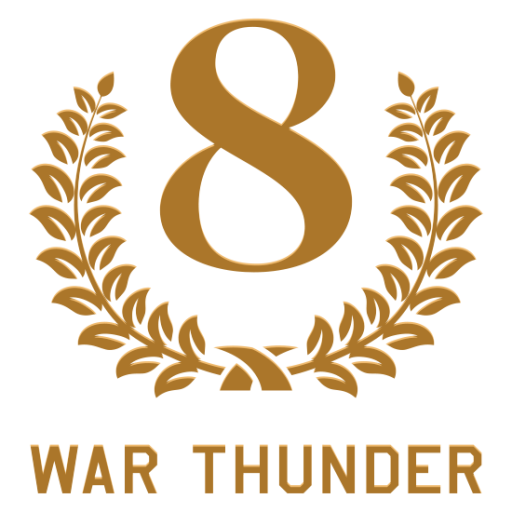 """8 Years of War Thunder"" decal"