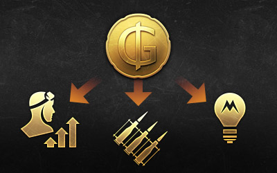 GJN can be used to purchase Golden Eagles, meaning that their owners have access to RP transfer, crew skill training, modification purchases, and other features unlocked by the premium currency.