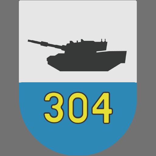 Emblem of Panzerbataillon 304, Bundeswehr