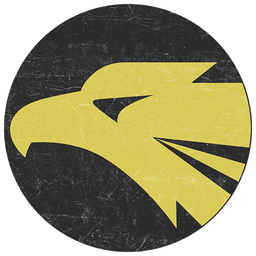 Emblem Golden Eagles of the 306th tactical fighter squadron, JASDF