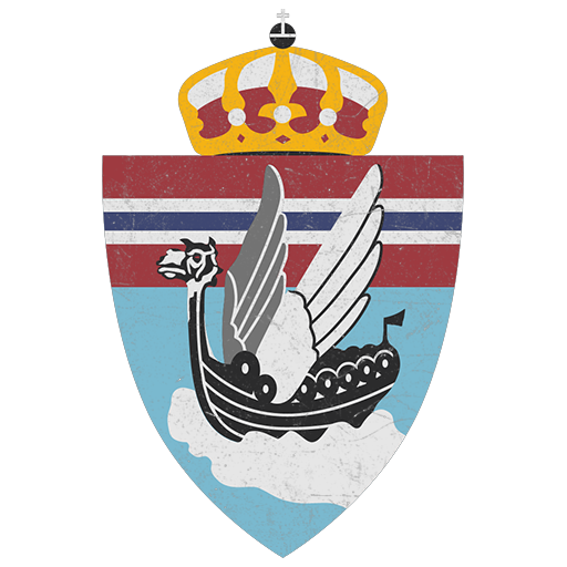 Winged Longship emblem of No.331 Squadron, RAF