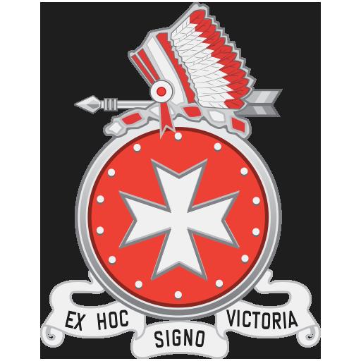 Emblem of the 14th Field Artillery Regiment, USA