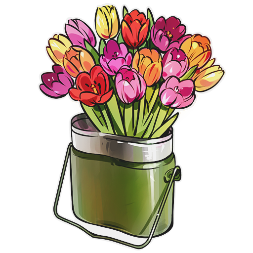 """""""Cauldron of Flowers"""" decal"""