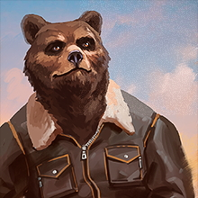 "Pilot icon ""Bear"""