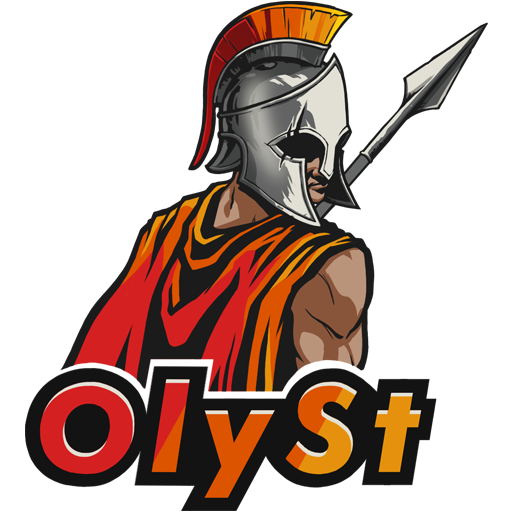"""OlySt Team"" decal"