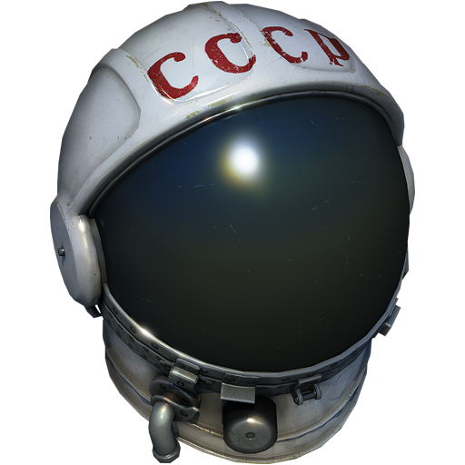 """Astronaut's helmet"" 3D decoration for ground vehicles"