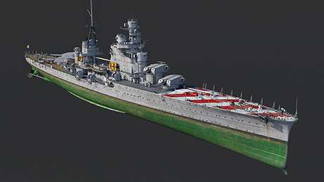 Heavy Cruiser Pola