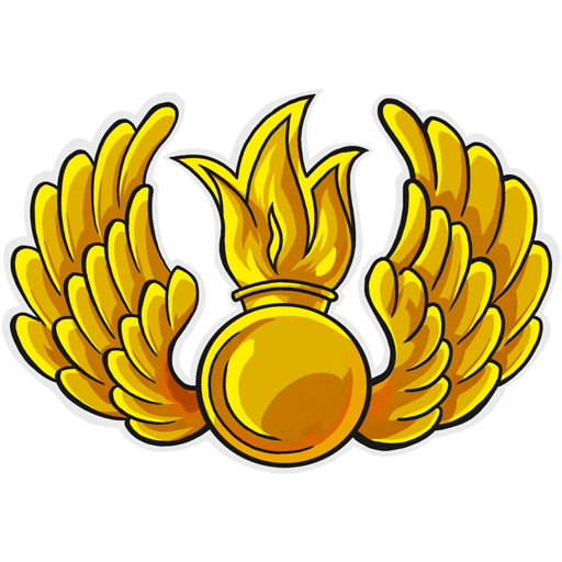 Small emblem of Airborne forces