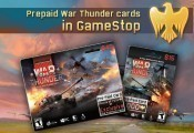 Prepaid War Thunder Cards in GameStop USA