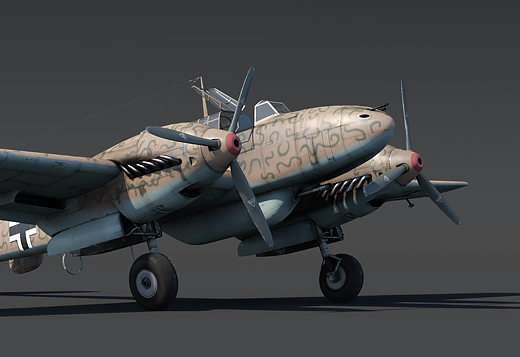 Bf 110 C-6 rank II, Germany