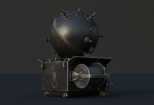 Naval mines in War Thunder