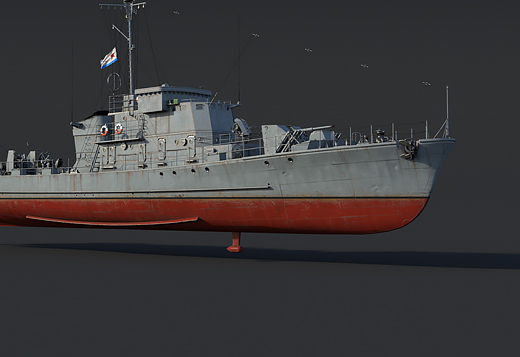 Project 122bis - Rank II Premium Vessel (USSR)