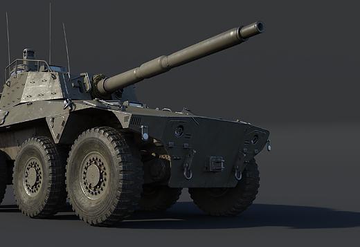 Rooikat 76 Mk.1D