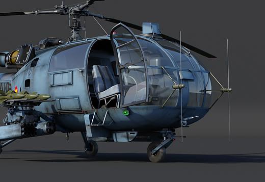 SA.316B Alouette III