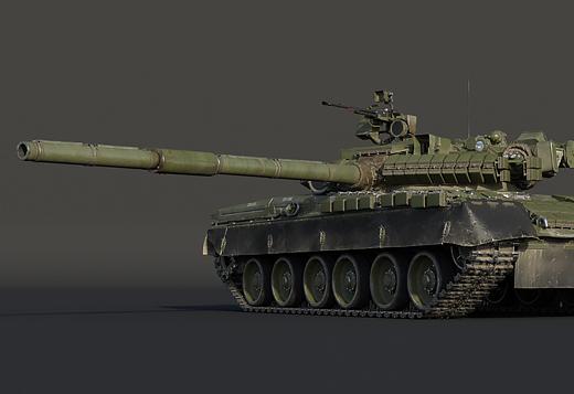 Т-80B with ERA