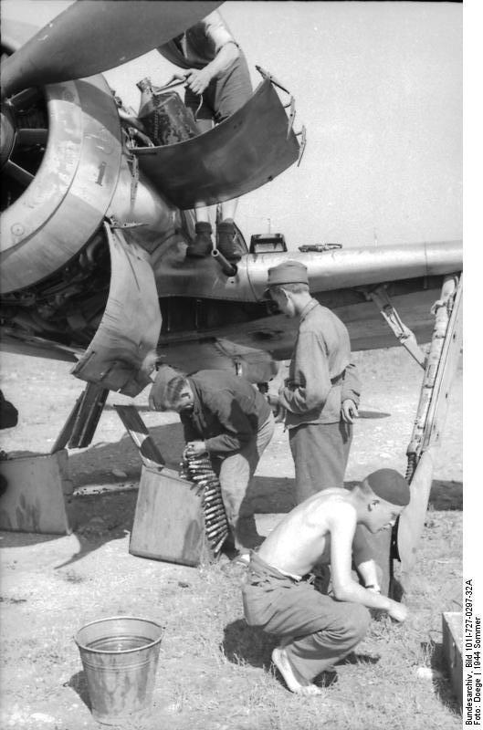 Le Fw 190 l'avion de référence de la Luftwaffe Fw-190-2