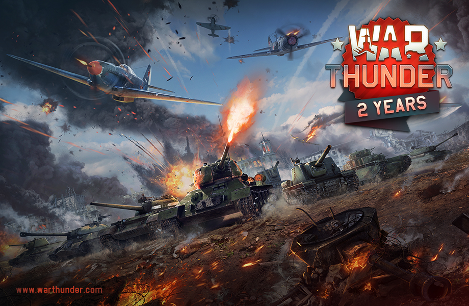 War Thunder Free Combat Mmo Game Main Page Party