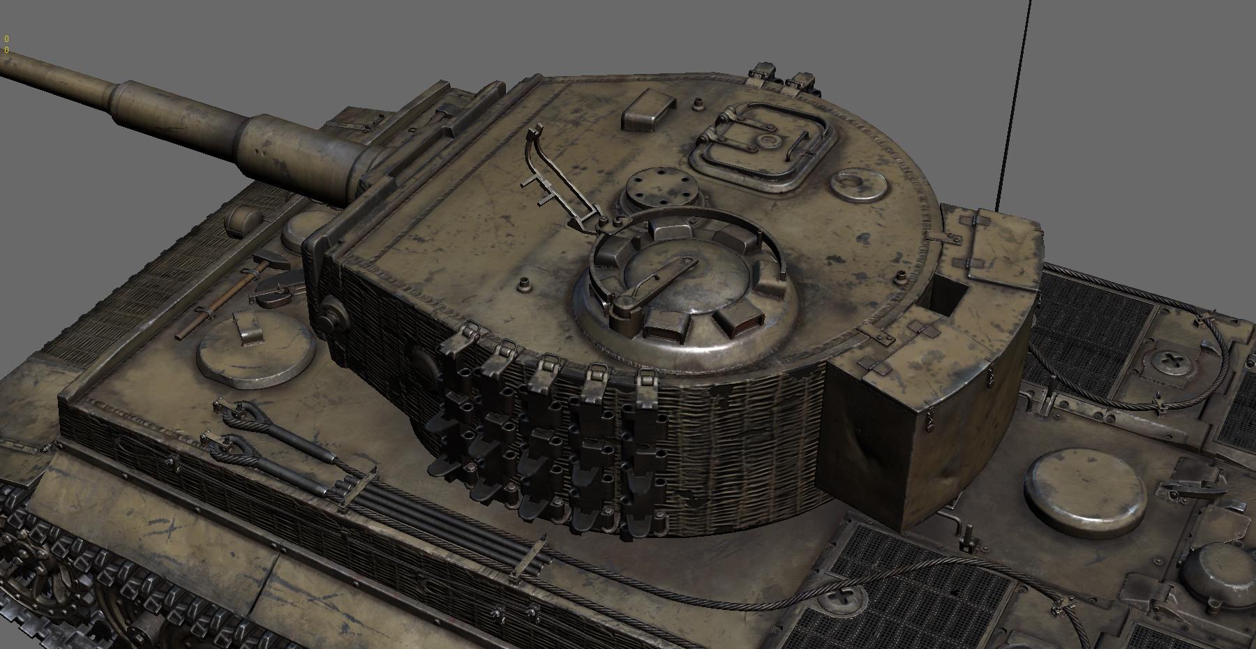 War thunder танка орудие тигр