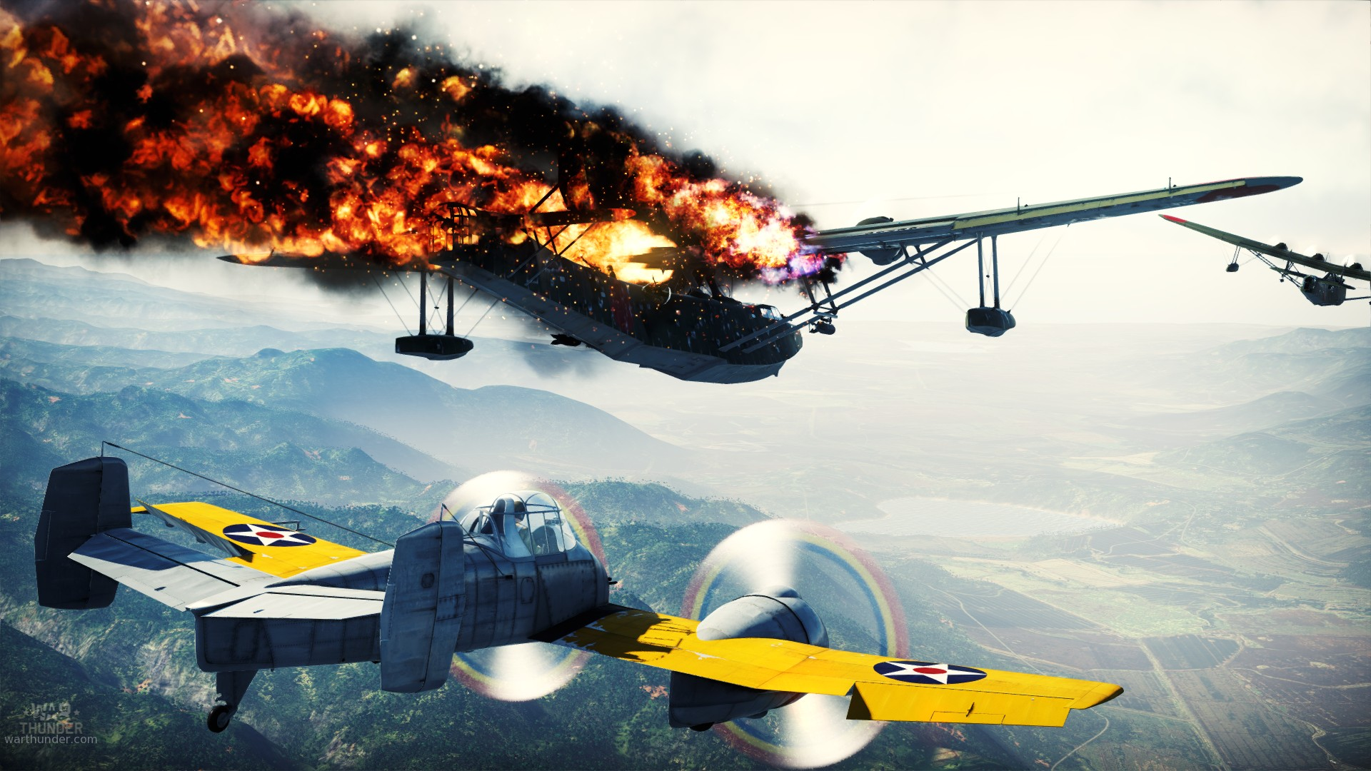 War thunder next gen mmo combat game for pc mac linux for Capture 2cran
