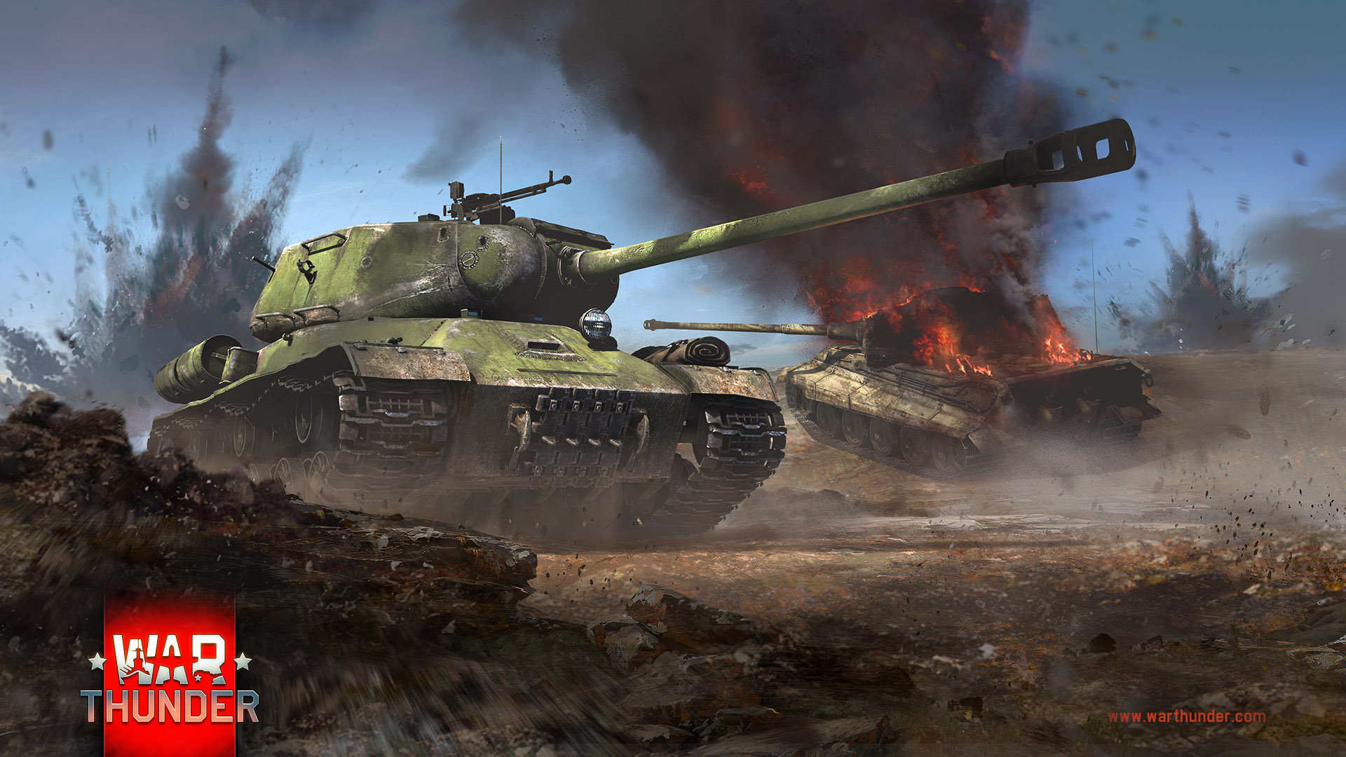 Battle Tanks Wallpaper