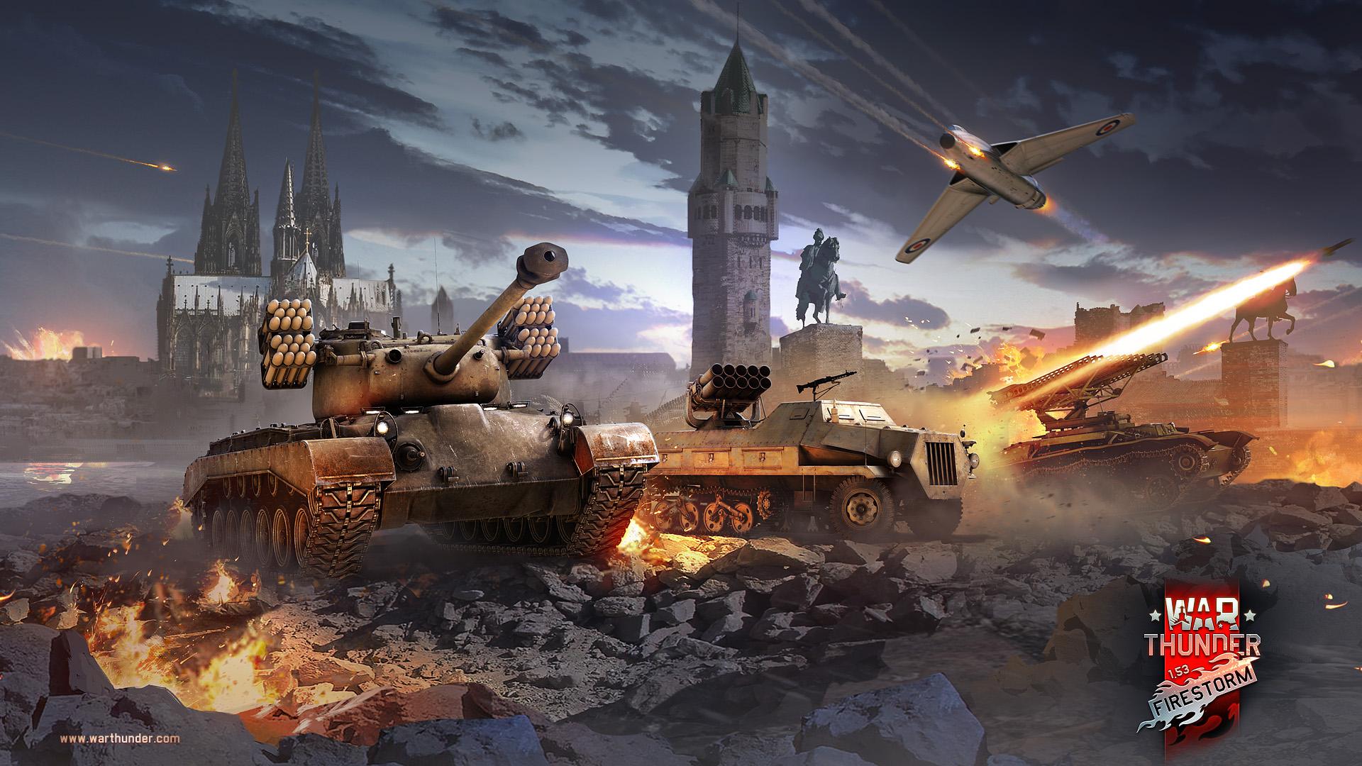 [Development] War Thunder: Update 1.53 'Firestorm'