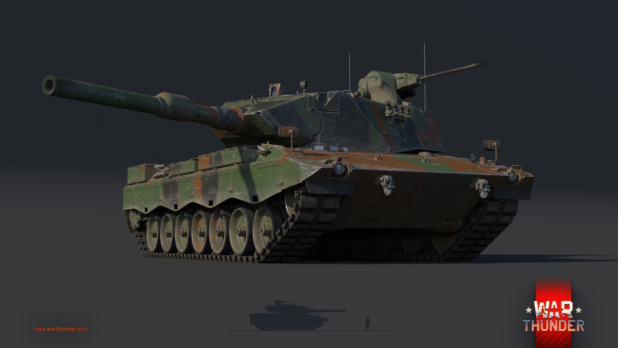 war thunder how to use the guns on tank