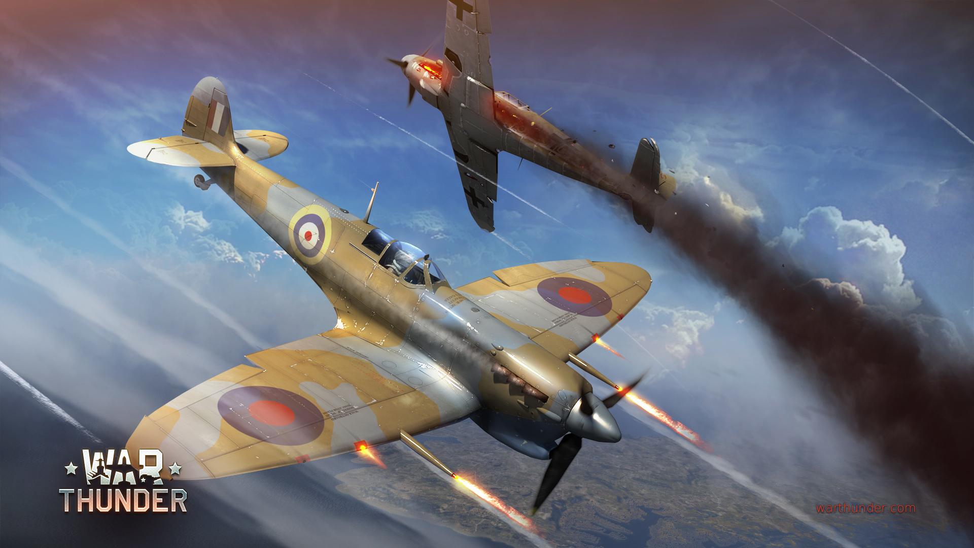 war thunder spitfire v