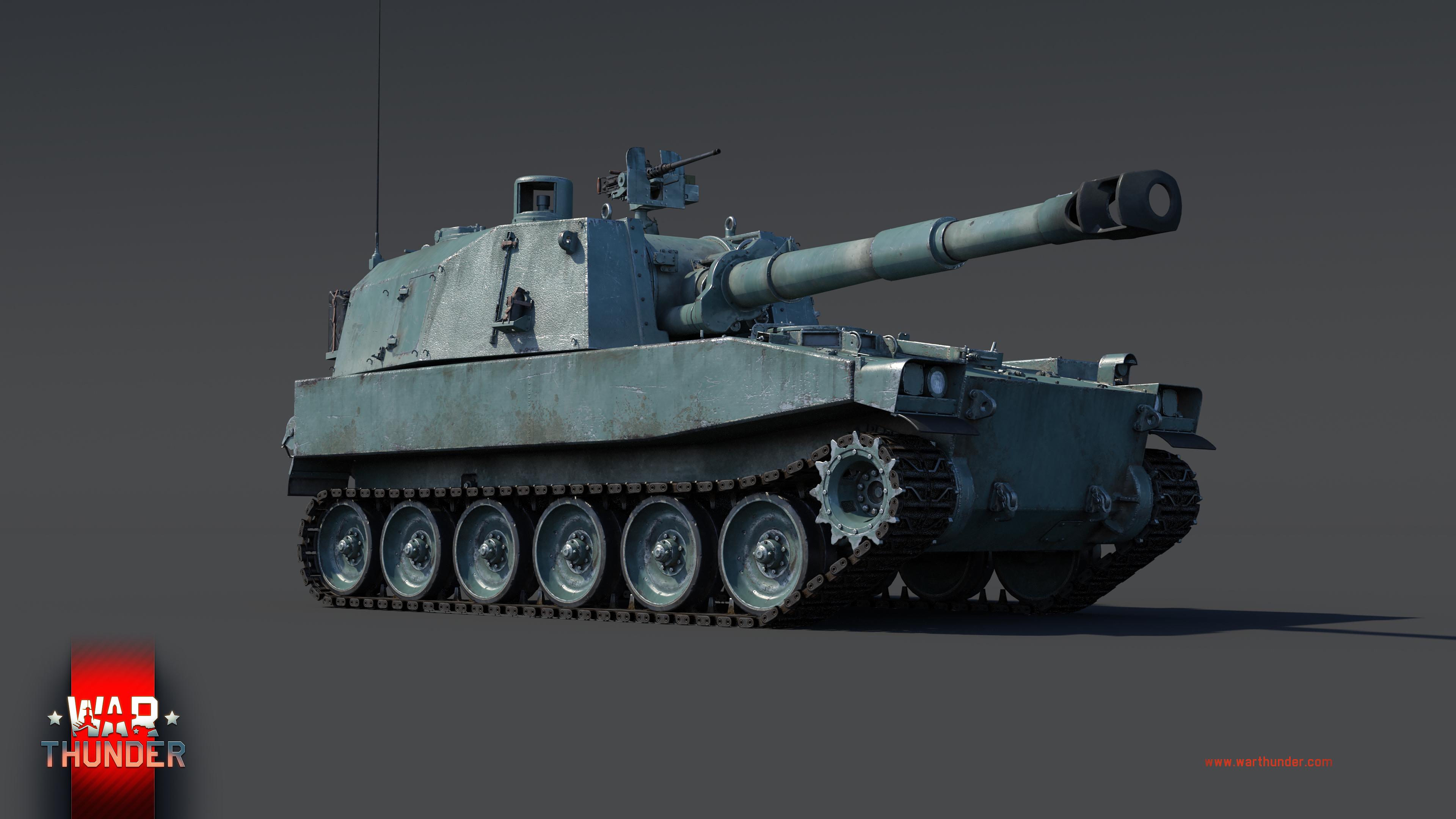 war thunder artillery tanks